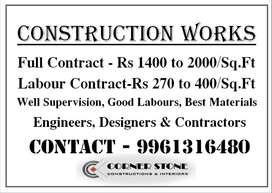 Civil Contractors & Designers - Homes in Thrissur,Malappuram