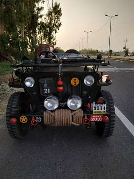 Usa army willy's jeep