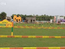 Ready to Houses Plots For Sale in Padappai Town(DTCP Approved)