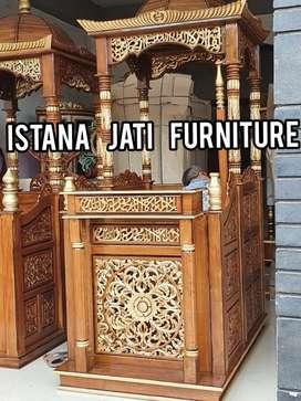 Jual Mimbar masjid ceramah khutbah masjid/mushollah