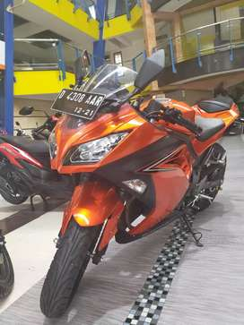 - KM 3ribu Ninja 250 Fi - Sanjaya Motor Rendy -Mokas 100% berkualitas