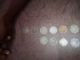 Old coin sele