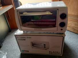 Oven listrik 9L toaster oven 800W BLACK + DECKER