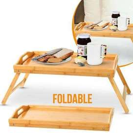 Bamboo Wooden Foldable Table
