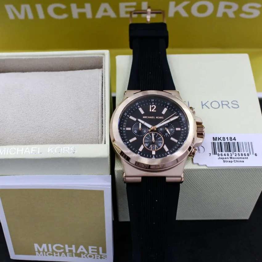 Michael Kors MK 8184 Black rose gold original 0