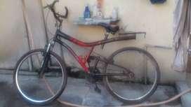 Hero ranger double shaker bike