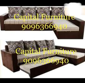 Brand New corner sofa cum bed on instalment at very affordable price