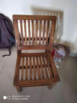 Small chair for garden