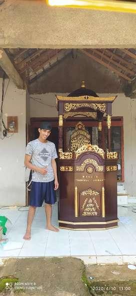 Mimbar masjid ceramah