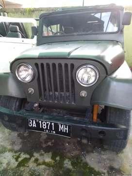 Jeep cj5 mambo antik langka koleksi hanya digarasi