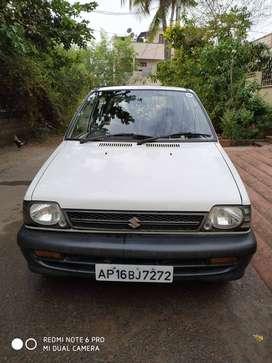Single Used Maruti 800 - 2008 Model