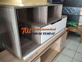 meja tv panjang 120 cm model simpel antar ke lokasi