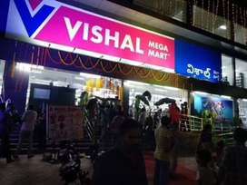 URGENTLY REQUIRED HiRiNG iN ViSHAL MEGA MART MALL