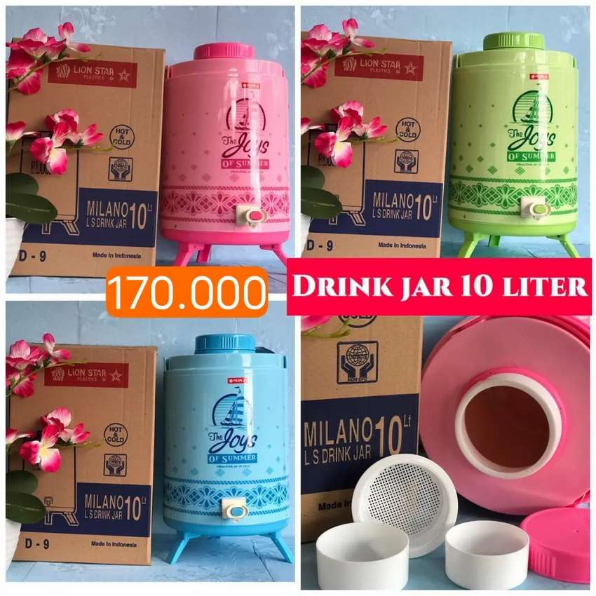 DRINK JAR MILANO 10 LITER HOT & COOL LION STAR