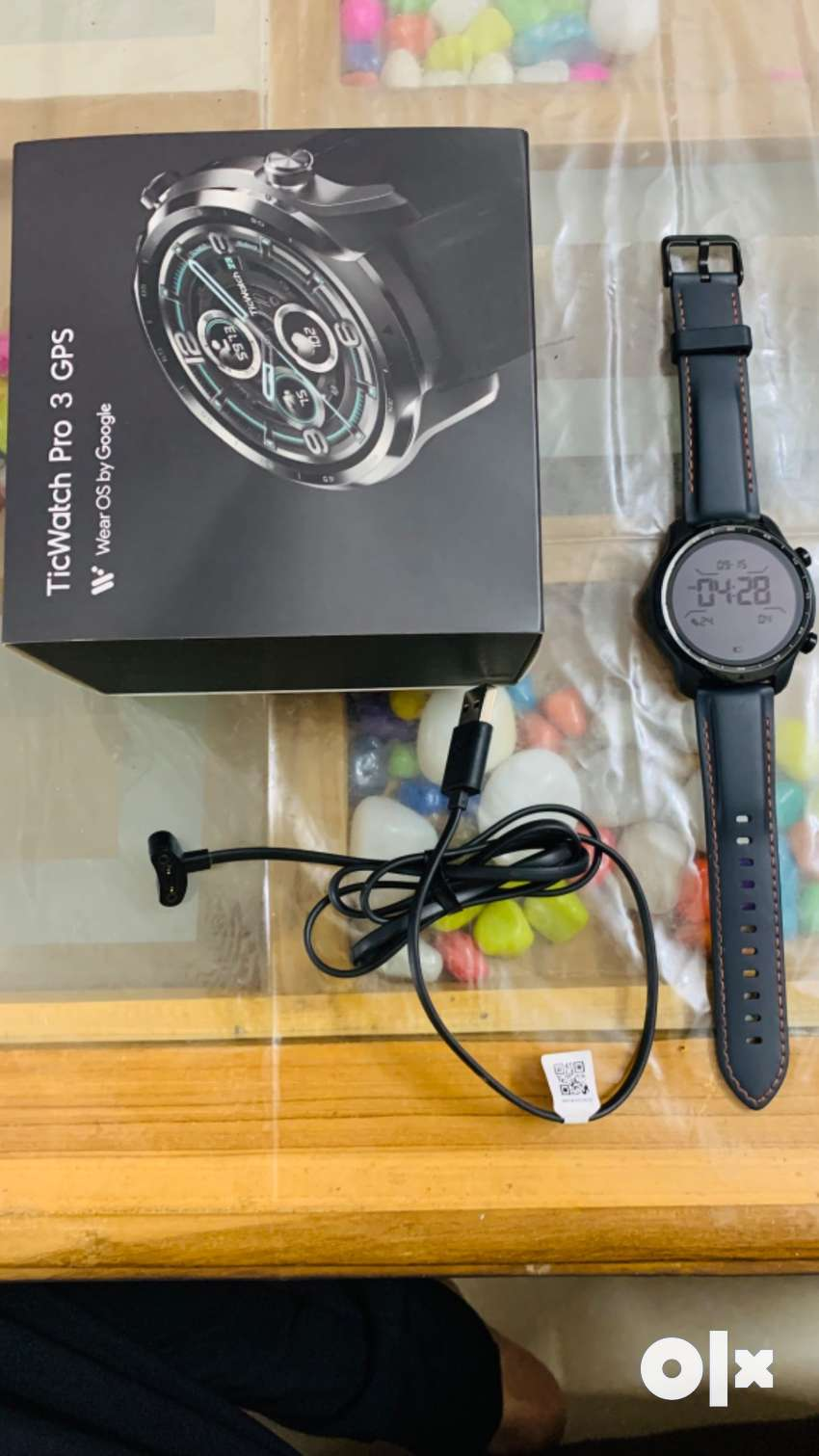Mobvoi TicWatch Pro 3 GPS Wear OS Smart Watch Price Negotiable.