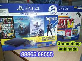 PS4 1Tb  Slim/Pro with Games best Sale Price