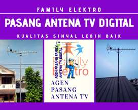Ahli antena dan parabola free pasang baru antena tv mini booster
