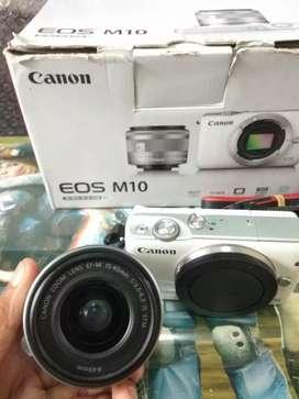 Mirrorless Canon EOS M10 (BoX)
