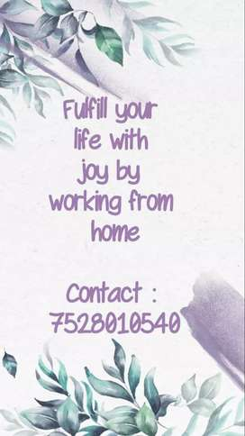 Vacancy for back office in India / home based