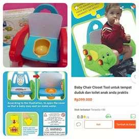 Baby chair closet tool