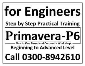 ICCT - Primavera-P6 Step by Step Practical Training Planning & Control