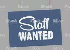 Required  receptionist for newly Opening restaurant