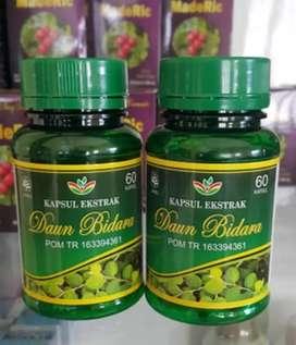 Kapsul ekstrak daun bidara herbal ampuh