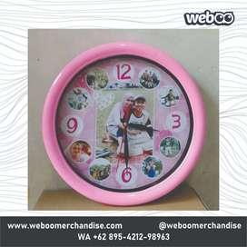 Jual Jam Dinding Custom untuk promosi   Barang Promosi
