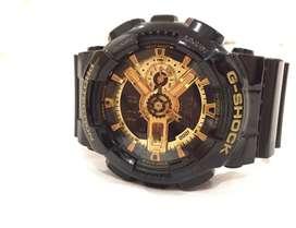 Casio G-Shock Watch Black & Gold Special Edition