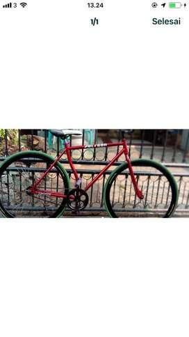 Fixie sepeda bekas
