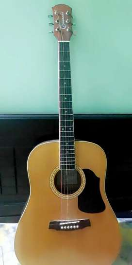 Acoustic guitar for sale .