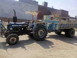 Ford tractor trali jack wali