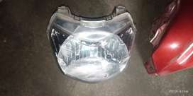 Head light and spare parts activa 4g