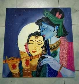 Radha Krishna Painting
