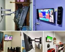 Pemasangan Braket TV (bracket tv)