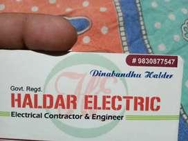I am Dinabandhu Halder.  Electrical contractor.