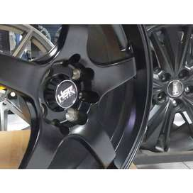 velg racing vios ring 17 warna black