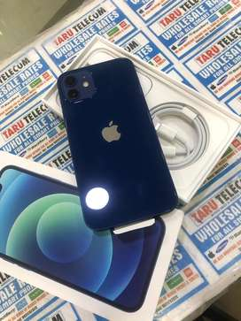 Iphone 12 128gb blue only seal open