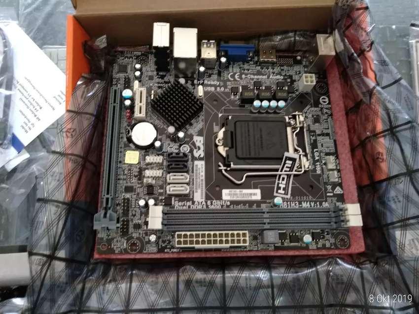 Mainboard pc ECS H81 M4 new 0