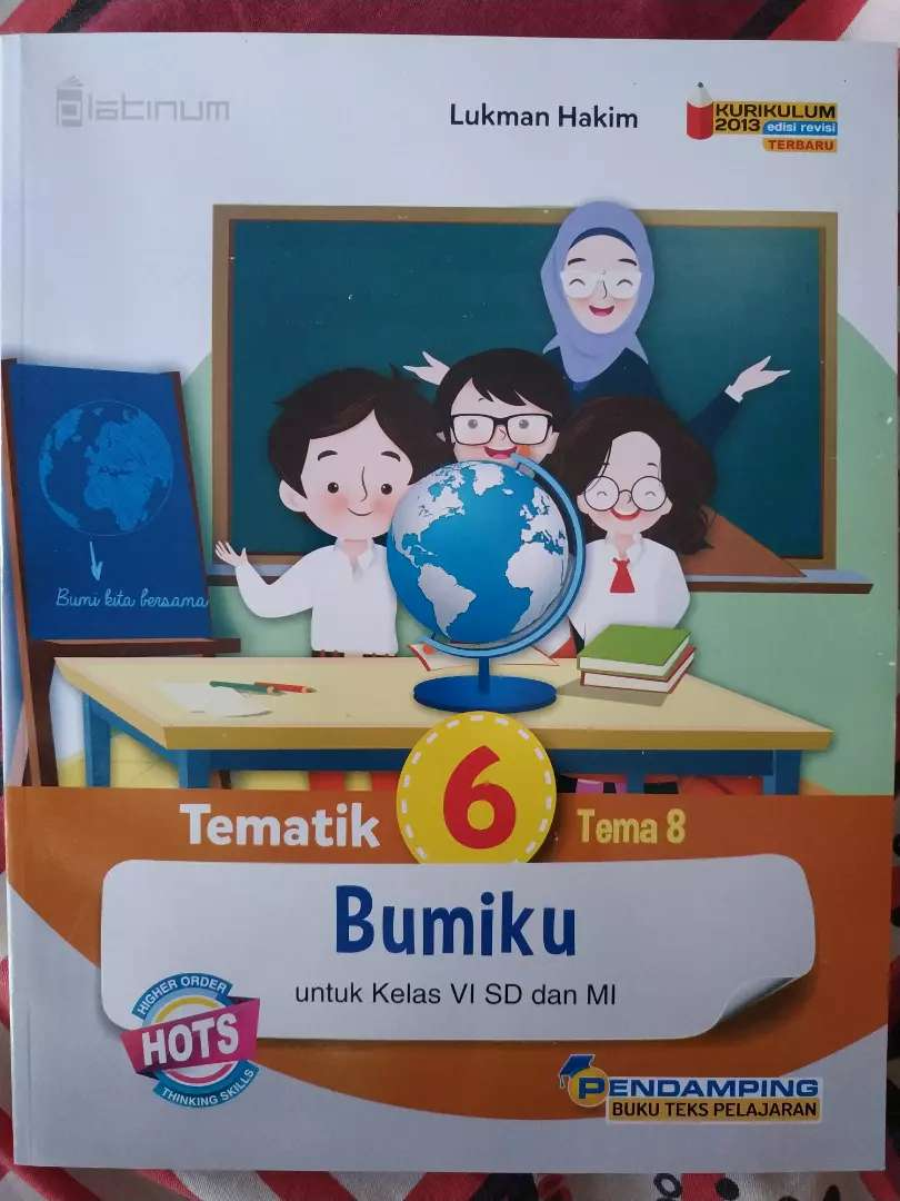 Buku Tematik Tema 8, Buku Sekolah kelas 6 SD