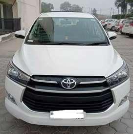 Crysta Toyota Innova (white) December 2020 Diesel 5000 Km Done (PB01C)