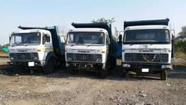 Urgently required 6,10,12&14 wheelers (45HYVA)and(37Dalabody)daily pay