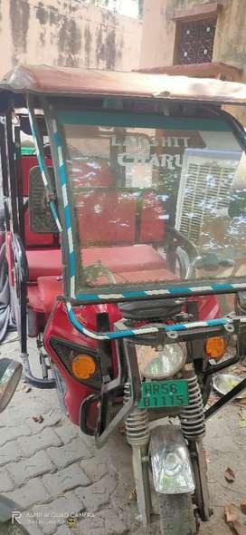 Ele Auto rikshaw fully electric