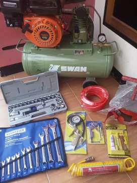 Mesin Paket Bengkel Full Set Original