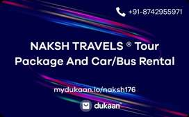 Tour package and car, bus Rental company