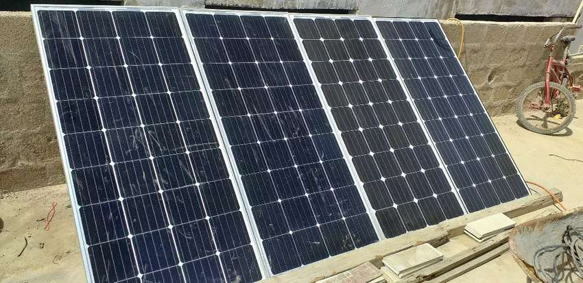New solar panel complete installation Project 0