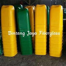tempat sampah fiber,tong sampah oval kapasitas 50ltr, pabrik tong