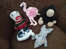 Stuff Toys Pack of 5