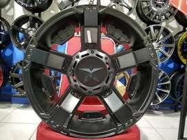Velg Mobil Dmax Type RASTA 2 JT5232 Ring 17 HSR Wheel