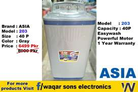 Washing Machine | Asia Haier kenwood Super Asia Westpoint